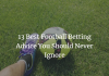 best betting advice