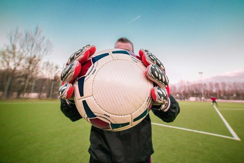 门夫,足球,守门员,足球运动员,守门员